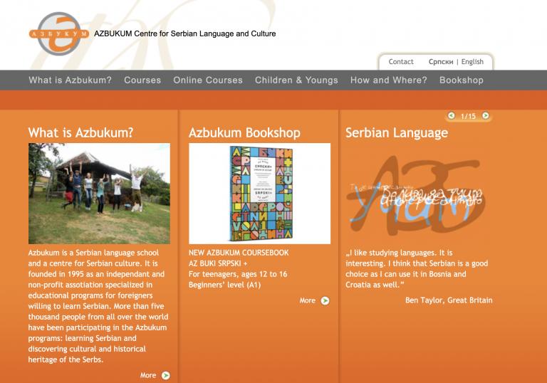 移民塞爾維亞 – 在AZBUKUM塞爾維亞語言和文化中心 學習塞爾維亞語