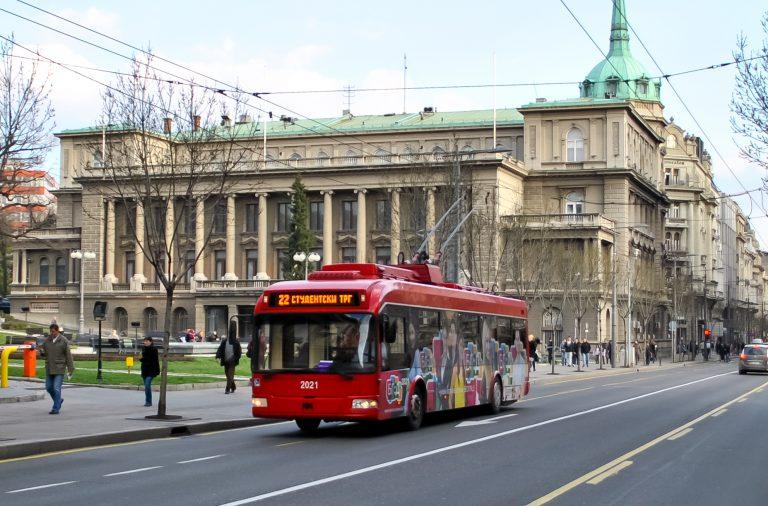 塞爾維亞 貝爾格萊德 公共交通與停車